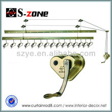Balcón techo ropa secado estante colgar ropa secado estante estantes de aluminio para balcones montado en la pared ropa secadora