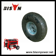 BISON China Taizhou Good Quality Generator 10inch Air-inflated wheel with Factory Price