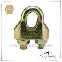 Clip maleable galvanizado DIN1142 de la cuerda de alambre