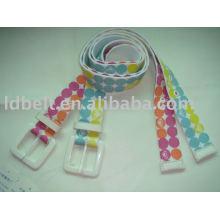 Wide fashion belts women Webbing Belt