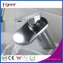 Fyeer Cheap Brass Basin Water Faucet for Promotion (Q3032)