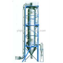 Secador de granulación de atomización de presión para la fabricación de cápsulas