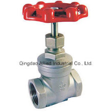 Screwed End Gate Valve for Pipe Line