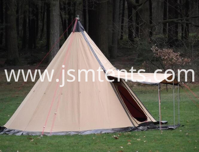 Canvas Tepee Tents
