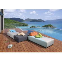 Modern soffa utomhus / inomhus möbler pool stol