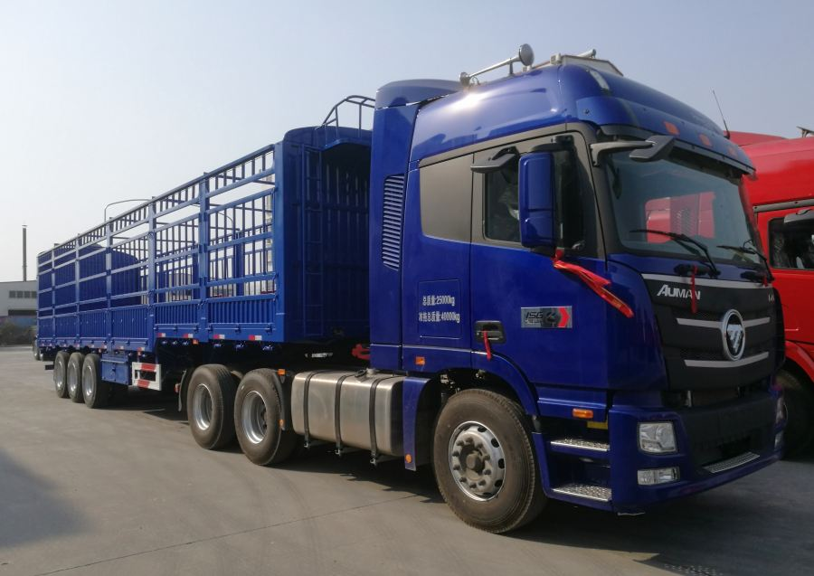 High Column Semi Trailer