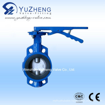 Wafer Type Butterfly Valve in Hand Lever