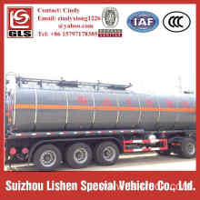 40000 Liters Carbon Steel Insulation Asphalt tank Trailer