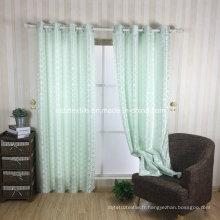 Tissu de rideau de fenêtre New Design Factory