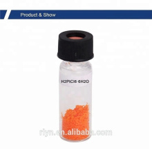 99.95% 18497-13-7 H2PtCl6 Chloroplatinic acid hexahydrate
