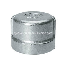 Stainless Steel Threaded Round Cap