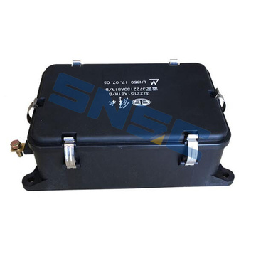 Suku cadang mesin weichai, power box assembly, 3722155A81W-B