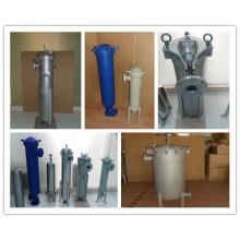 Alta qualidade de aço inoxidável saco de filtro de habitação fazendo fábrica