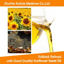 Comestible y refinado con aceite de semillas de girasol de buena calidad