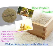 Repas de protéines de riz (60% 65% 72%)