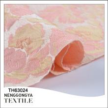 Venta caliente Diferentes tipos de tela tejida hermosa del sofá de la cortina del telar jacquar