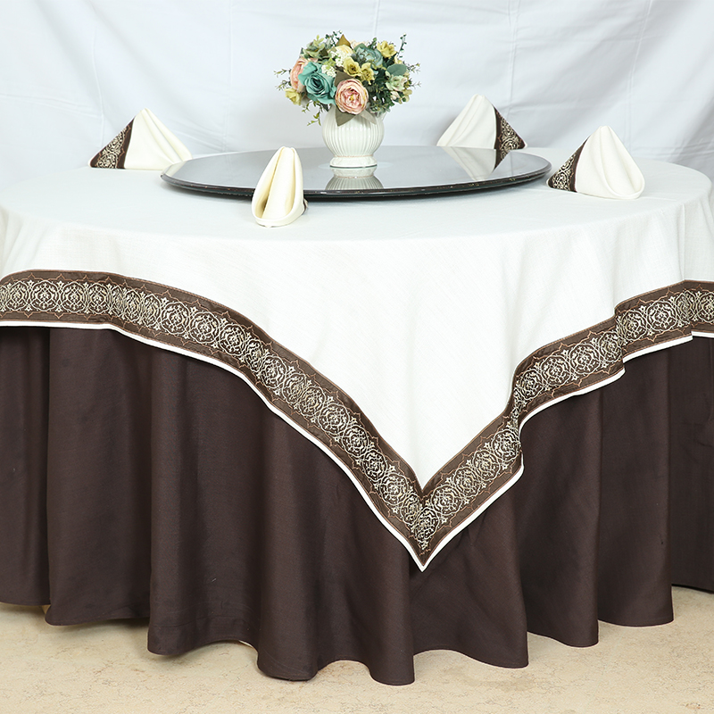 tablecloth brown