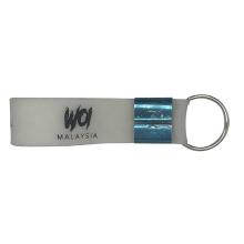 Cheap Rubber Wristband Silicone Bangle  Bracelet Key Chain
