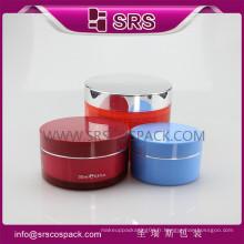 J026 pommade en plastique et haute qualité, récipients pour produits capillaires