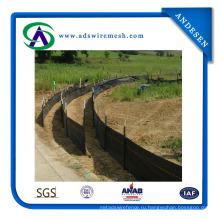 Ила забор из Геотекстиля (АДС-СФ-02)
