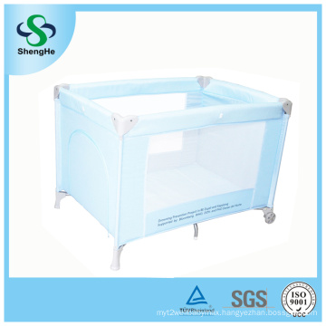 Light Weight Baby Playpen with 2 Wheels
