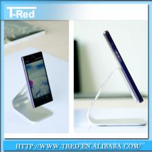 2014 Nouvelle conception claire acrylique téléphone mobile présentoir usine en gros prix