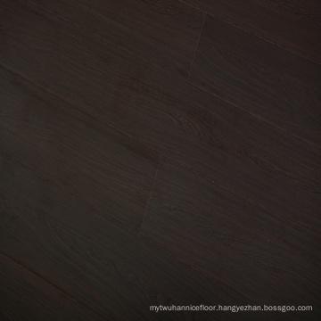 8mm CE Black Classic Oak Embossed Finish Laminate Flooring