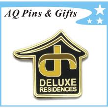 Pin à broche souvenir en métal de luxe en Cloisonne doux (badge-158)