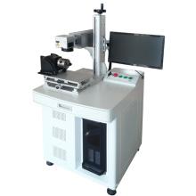 Máquina giratória do laser da marcação / marcação exterior da superfície para a máquina da marcação do laser do tubo e da tubulação