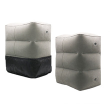 Almofada de PVC inflável para descanso de pés