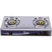 Two Burners Stailless Steel Gas Cooker,
