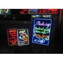 High brightness tempered glass Bar LED Writing Boards 50cm