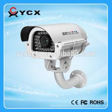 1.3MP HD CVI 4 en 1 placa de matrícula del vehículo Cámara del cctv impermeable del IR en el ventilador y el calentador