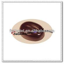 Molde de chocolate em forma de feijão de café V141PC