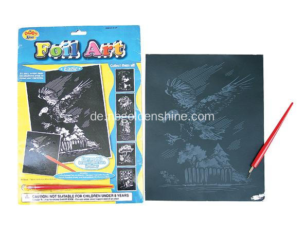 Fun Appear Activity Scratch Art