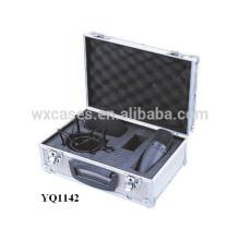 starke Sicherheit Ausrüstung Aluminiumgehäuse mit benutzerdefinierten Schaum einfügen