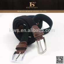 Folding leather belts and buckles