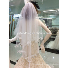 Latest Wedding Bridal Veils One Layer White Wedding Veils for Wedding Accessories C001