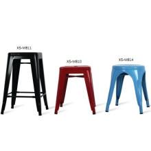 Современная металлическая мебель для сада Обеденный стул на открытом воздухе / стальной стул