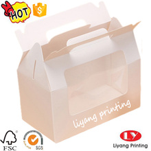Custom wholesale food grade paper cake box