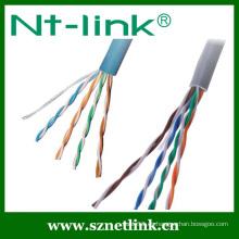 Cat5e sólido utp rj45 lan cable