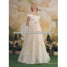Floor Length Empire Pregnant Wedding Dress