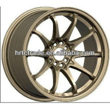 15/16/17/18/20 inch beautiful 8 trous 139.7 / 114.3mm réplique de roue de voiture de sport