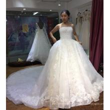 Vestido de novia sin tirantes con cordones vestido de novia 2018 HA640
