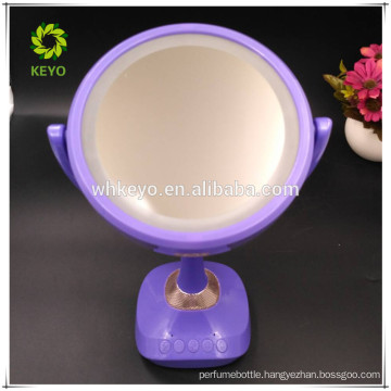 new products 2017 innovative product bluetooth speaker music mirror cosmetic mirror with led light