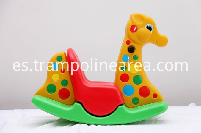 Plastic rocking horse indoor