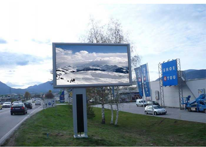 outdoor led digital bollboard