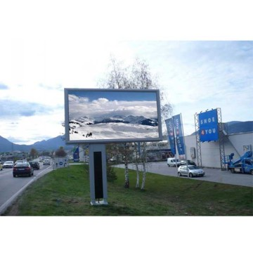 Digital Billboard Outdoor LED Display Vattentät