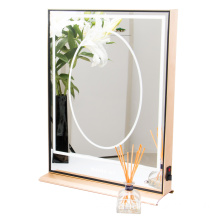 stand up vanity mirror. Drawout Patten Led Makeup Cosmetic Mirror China Salon  Portable Vanity Lighted