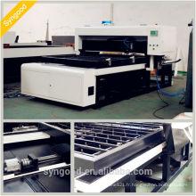 Investissement économique! Haute précision et 35m / heure SG1218co2 matrice moulée au laser coupe bois